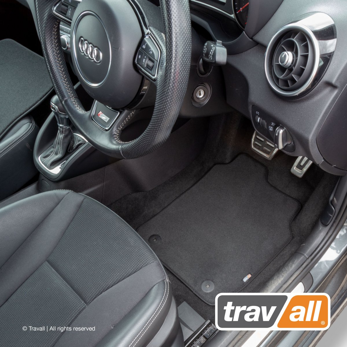 Travall® MATS [RHD] for Audi A4/S4 Saloon / Estate (2015 - )