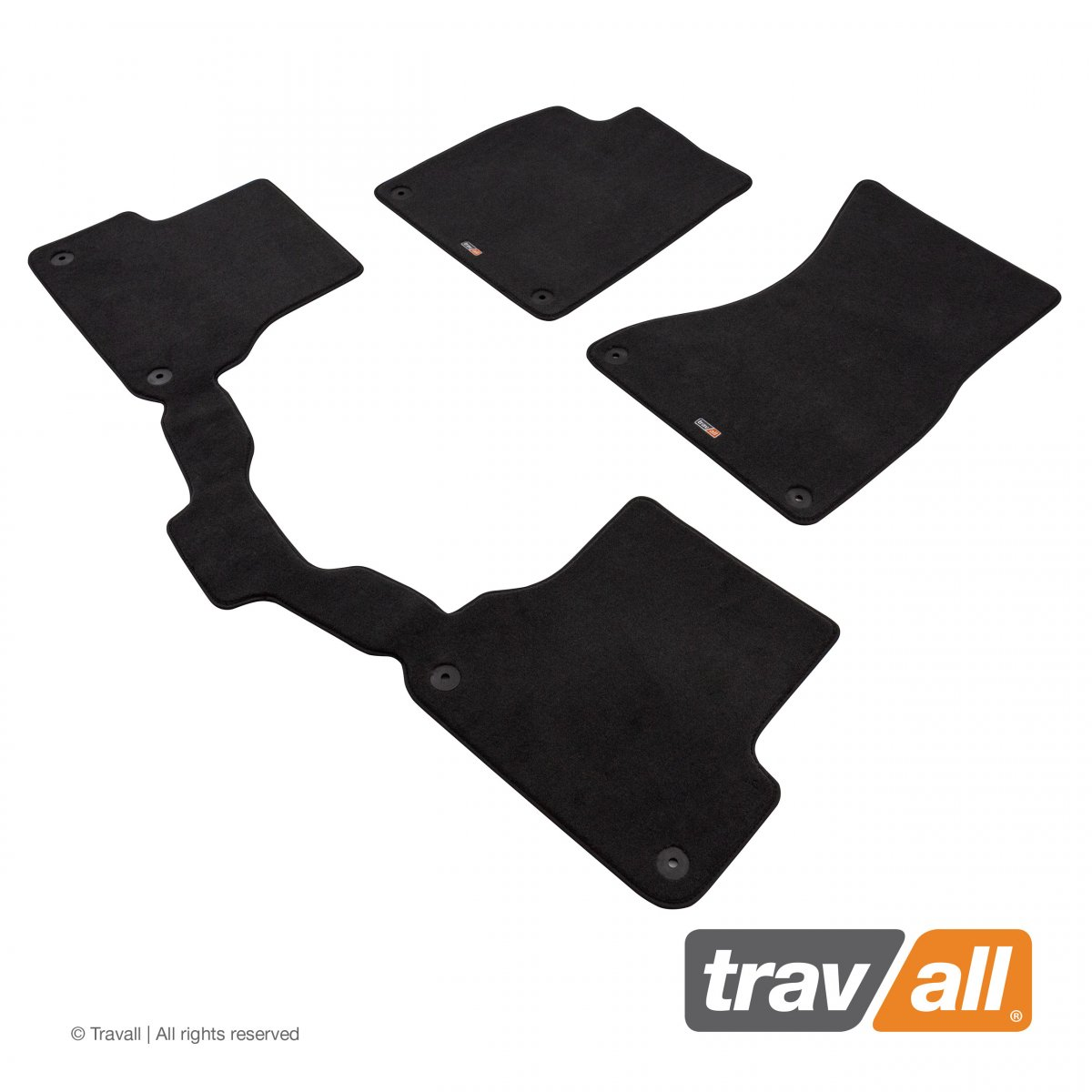 Travall® MATS [LHD] for Audi A6/S6 Saloon / Estate (2011 - 2018)