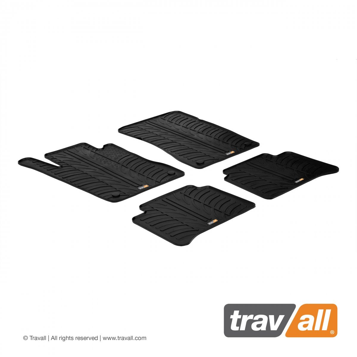 Travall® Mats voor Mercedes Benz E-Klasse Sedan W211 2002 - 2009