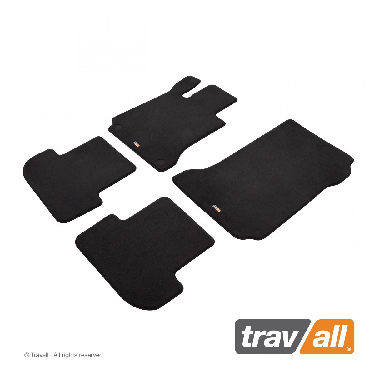 Travall® MATS [LHD] for Mercedes Benz E-Class Coupe [MANUAL] (2013 - 2017)