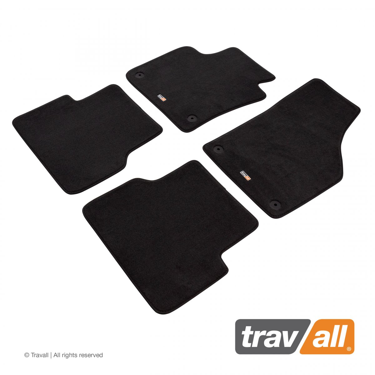 Travall® MATS [LHD] for Volkswagen Tiguan (2011 - 2016)