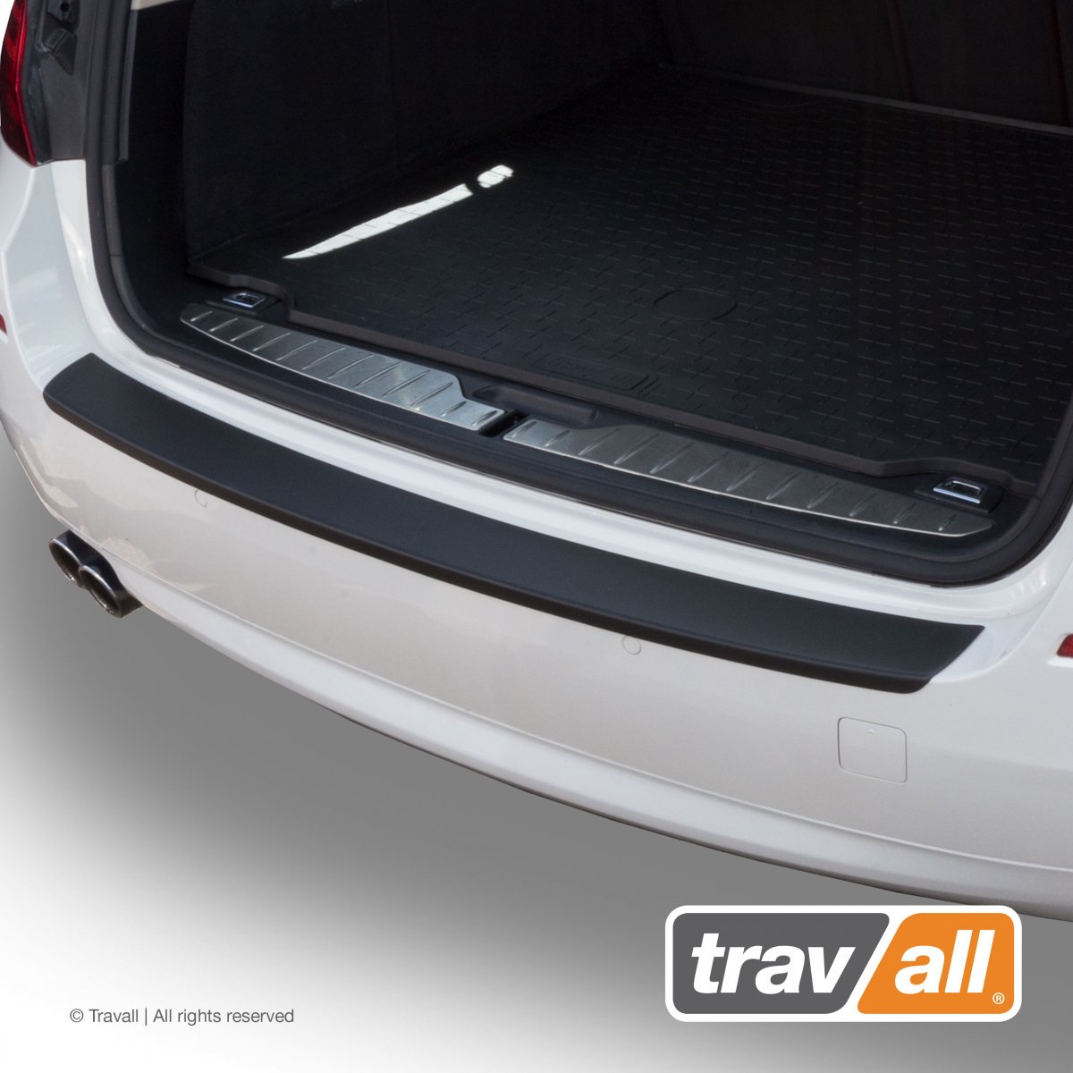 Travall® PROTECTOR-Kunststof Glad voor BMW 5 Serie Touring (2010-2016)
