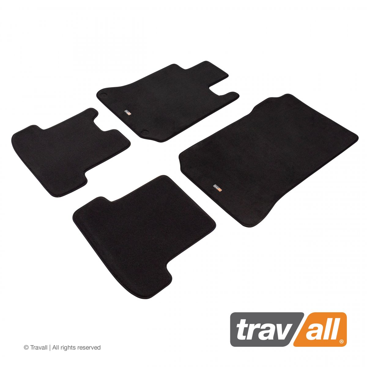 Travall® MATS [LHD] for Mercedes Benz C-Class Coupe / Saloon / Estate (2011 - 2018)