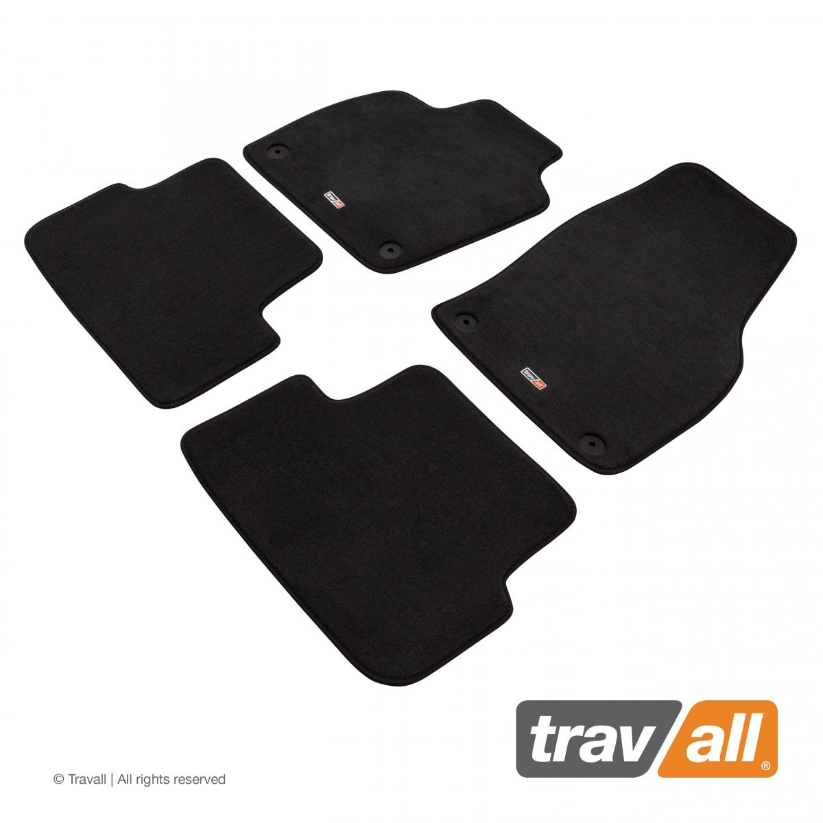 Travall® MATS [LHD] for Volkswagen Polo 5 Door Hatchback (2017 - )