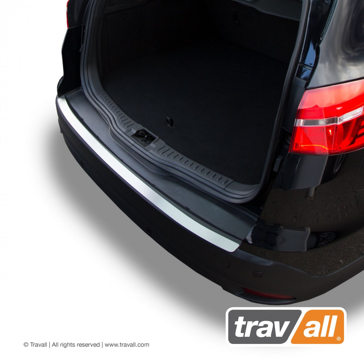 Travall® PROTECTOR-RVS voor Ford Focus Stationwagon (2010-2018) / ST (2012-2018) [Outlet-Plate]