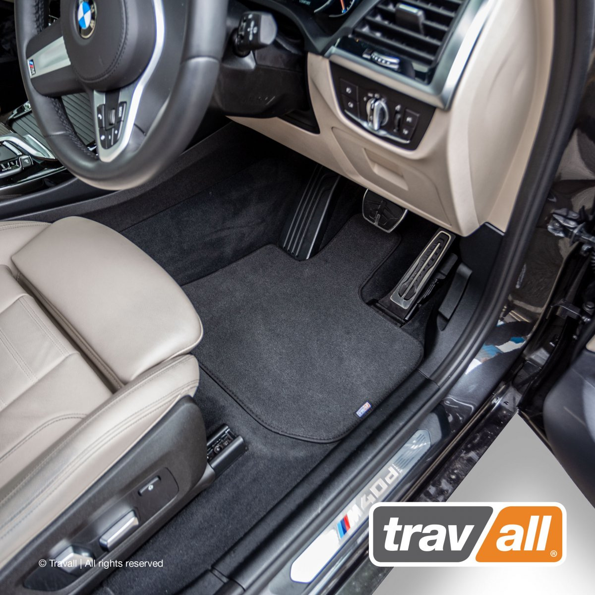 Travall® MATS [RHD] for BMW 6 Series Coupe / Convertible (2011 - )