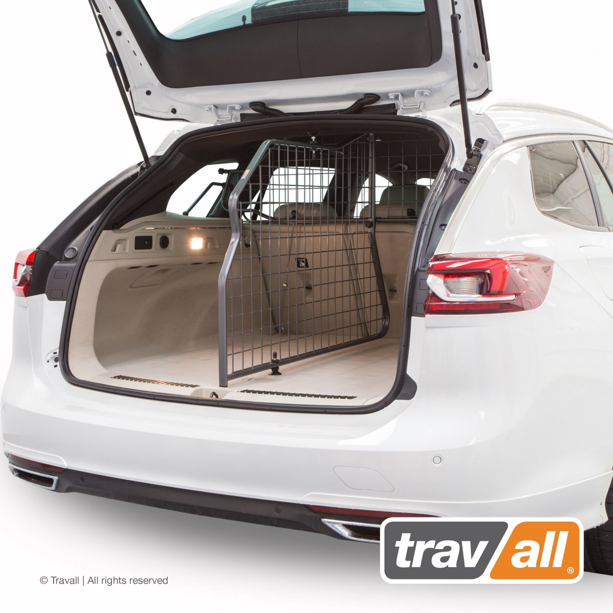 Travall® DIVIDER voor Opel/Vauxhall Insignia Sports Tourer (2017 >)