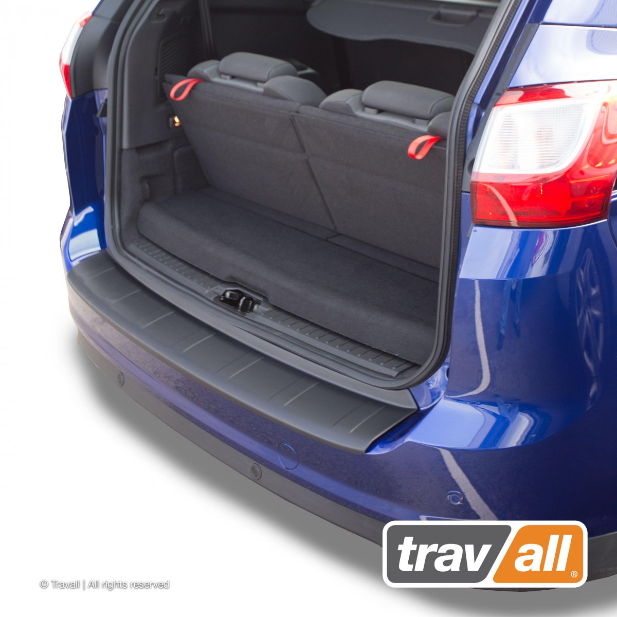 Travall® PROTECTOR-Kunststof Ribbelpatroon voor Ford Grand C-Max (2010-2015)