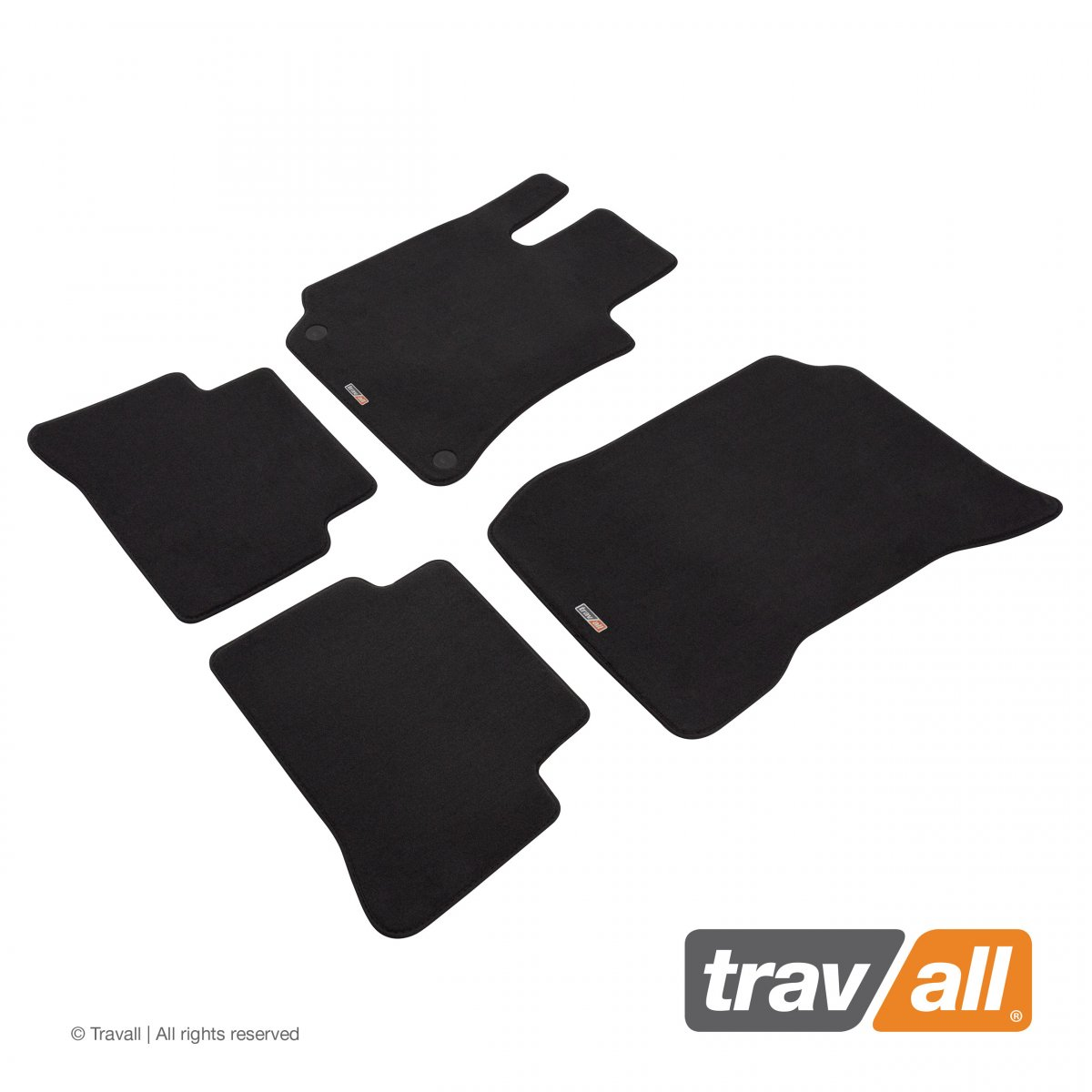 Travall® MATS [LHD] for Mercedes Benz CLS Coupe (2011 - 2018)
